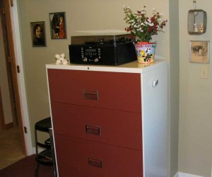 Retro File Cabinet