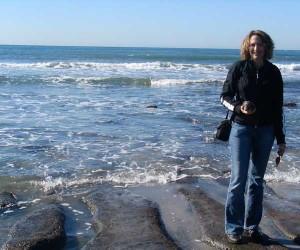 Maery on beach