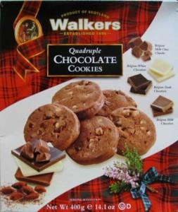 Walkers Quadruple Chocolate Cookies