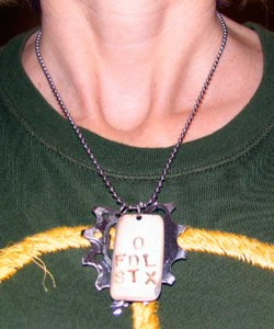 Sue Seeger necklace