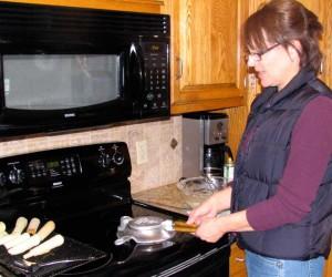 making krumkake