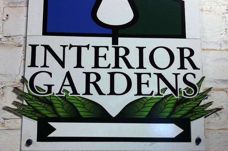 Interior Gardens and Unfinished Business