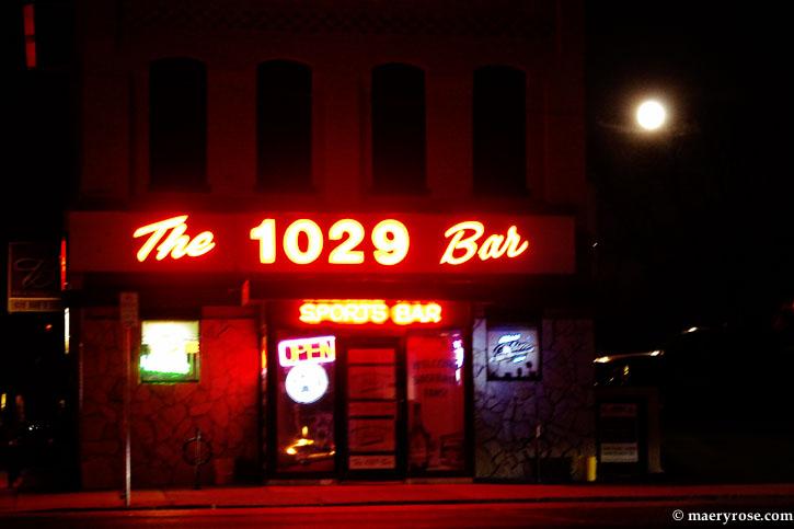 1029 bar in moonlight