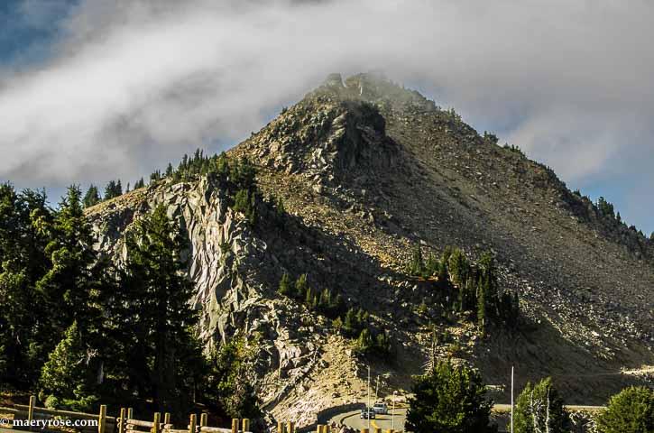 Mountains around Crater Lake
