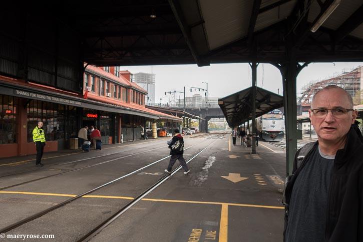 Portland train station