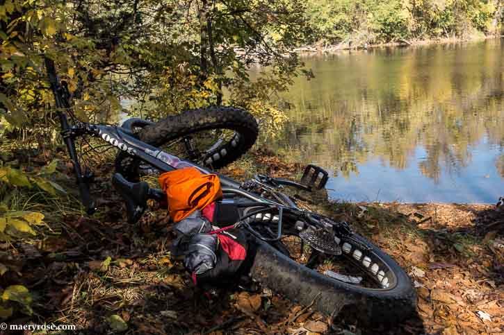 Biking along Rum River