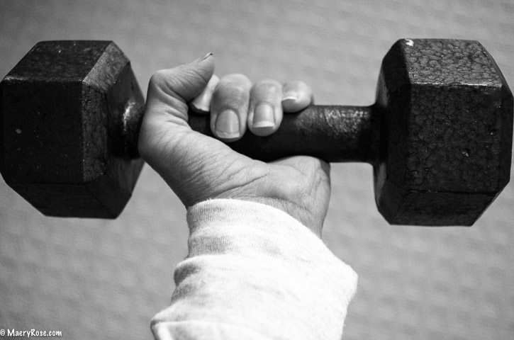 lifting hand weight