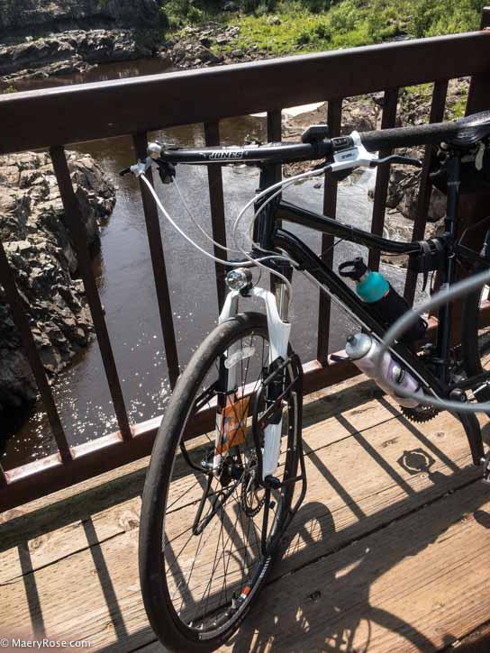 Bike at St Louis River