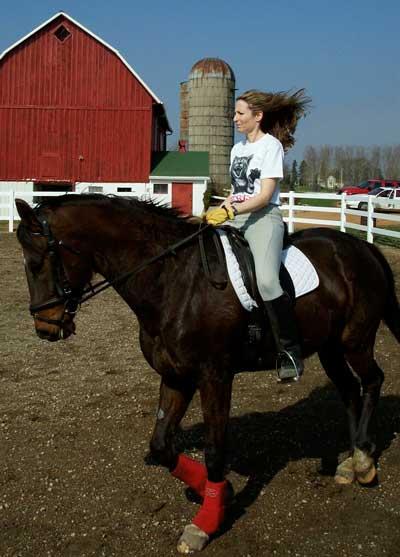 Ex-dressage Rider