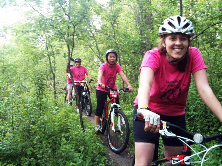Mountain Biking with the Ladies