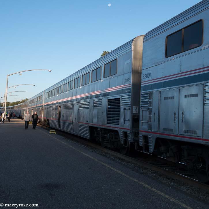 Part 1 of Oregon Trip: Taking Amtrak Train