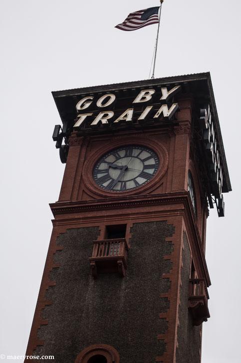 Part 7 of Oregon Trip: Heading Toward Home on the Amtrak Train