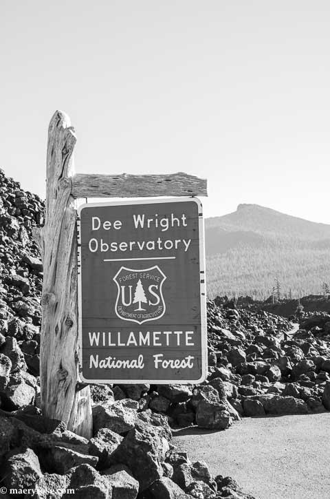 Part 6 of Oregon Trip: Dee Wright Observatory