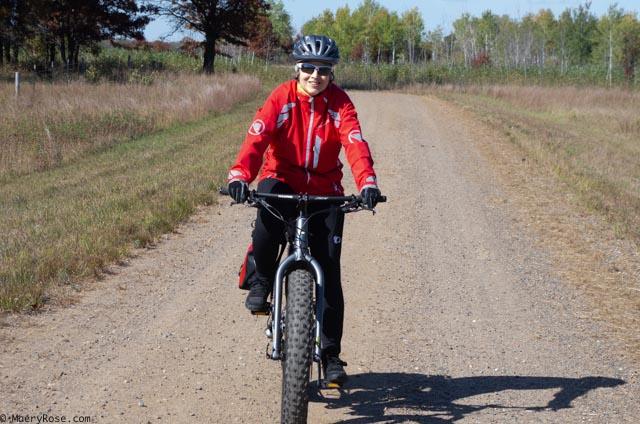 riding fat bike