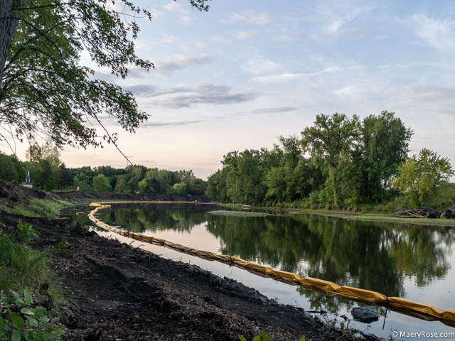 river bank stabilization project